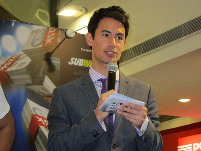 George Young, host of Million Dollar Money Drop